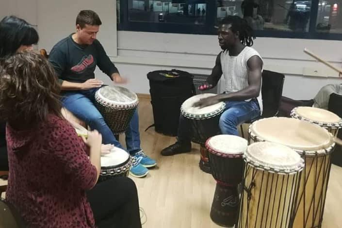Musica percusion africana utopian