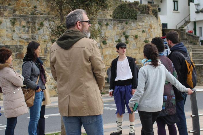 visitas teatralizadas getxo puerto viejo utopian