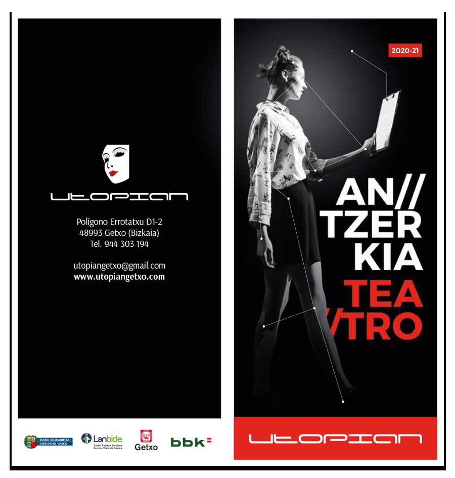 triptico teatro UTOPIAN 20-21
